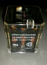 Line electric 11Pin CRH103D24VDC electo-magnetic Relay, , 10A, 240VAC