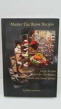 Master Tea Room Large Volume Recipes Amy Lawrence Hardcover Catering Menus Tips