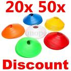10x/20x/50x Football Rugby Sport Training Space Marker Soccer Disc Cone Saucer