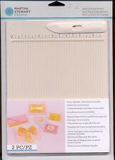 NEW EK SUCCESS MARTHA STEWART CRAFTS MINI SCORING BOARD BONE FOLDER 42-05013