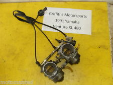 91 92 93 YAMAHA Venture XL VT480XL 88T OEM mikuni carb carbs set carburetors