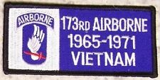 Embroidered Military Patch Vietnam Tour 173rd Airborne badge NEW