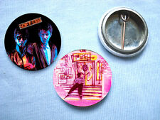 Soft Cell - 2 Badge Set Marc Almond Human League Visage Depeche Mode Kraftwerk