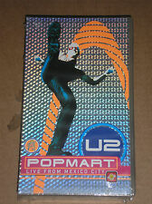 U2 - POPMART: LIVE FROM MEXICO CITY - VIDEOCASSETTA VHS SIGILLATA (SEALED)