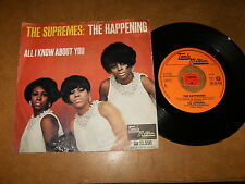 THE SUPREMES - THE HAPPENING - ALL I KNOW ABOUT YOU - 45 PS HOLLAND / LISTEN