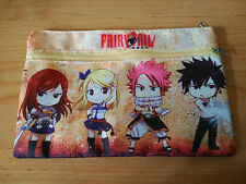 FAIRY TAIL NATSU LUCY GRAY HAPPY ERZA   PENCIL BAG  ESTUCHE NEW