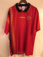 NWOT Spain 1994 World Cup Adidas soccer jersey (size: XL)