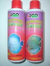 COMBO AZOO DISCUS AUTO-RECYCLE & LIVE WATER 500 ML (EACH)