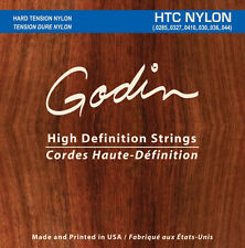Godin cuerdas de para/Strings for Godin multiac y guitarras clásica HTC