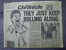EVENING CHRONICLE ROLLING STONES SOUVENIR EDITION.NEWCASTLE 1990.URBAN JUNGLE
