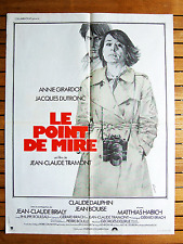 AFFICHE 60 X 80 CM LE POINT DE MIRE TRAMONT GIRARDOT ORIGINAL FRENCH POSTER