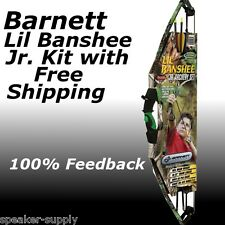 Barnett Lil Banshee Compound 1088 Archery Set Kit Realtree Kids Bow and Arrow 4H