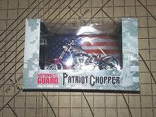 NATIONAL GUARD PATRIOT ORANGE COUNTY CHOPPER MOTORCYCLE 1:18 REPLICA - NIB
