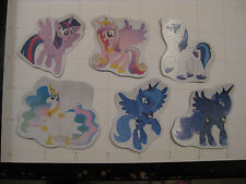 magnet set Princess Twilight Sparkle Celestia Luna Cadence Shining Armor