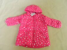 NEW Girls The Children's Place Winter Coat Pink With Silver Stars  9/12 mo