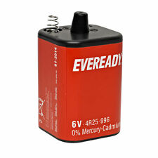 EVEREADY PJ996 4R25 996 6V 6-VOLT LANTERN BATTERY ENERGIZER /BRAND NEW