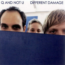 Different Damage by Q and Not U CD + Front Insert  ONLY! 2002, Dischord Records