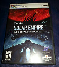 SINS OF A SOLAR EMPIRE 2008  PC