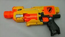 Nerf Dart Gun N Strike Barricade RV 10 Motorized Semi Automatic Blaster Works