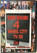 You Are Watching 4 Wheel City TV DVD + Fox News Very Good Free Shipping