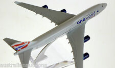 BRITISH AIRWAYS ONE WORLD DIECAST AIRCRAFT PLANE MODEL 15cm 1:400