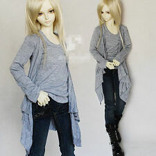 Layered Long Pullover Shirt for BJD 1/4 MSD1/3 SD17 Uncle Doll Clothes CMB12