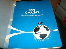 1996 FORD CARGO VANS TRUCKS FACTORY FORD SHOP SERVICE MANUAL - COMPLETE