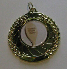 Wooden Spoon Medal 50mm Diameter Includes Neck / Engraving