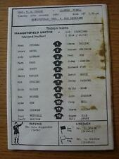 10/01/1989 Mangotsfield United v Old Georgians [Gloucestershire Trophy] (Heavy M