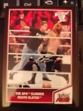 2013 Topps Best of WWE #32 The APA Clobber Heath Slater Silver Parallel