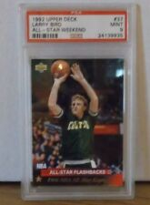 1992 Upper Deck #37 - LARRY BIRD - ALL-STAR WEEKEND - PSA 9 Mint