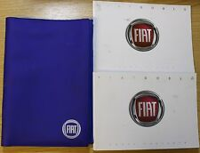 FIAT DOBLO HANDBOOK OWNERS MANUAL WALLET 2010-2016 PACK PRINTED 2013