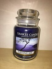 Yankee Candle 22oz 623g Large Jar Evening Air Deerfield VHTF RARE White Label