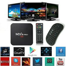 MXQ PRO S905 Smart TV BOX Android XBMC Quad Core KODI 16.0 4K Player Keyboard