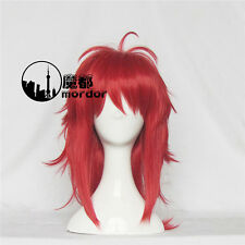 Gangsta Ginger Cosplay Party Wig+Wig Cap Red Medium Hair Free Shipping