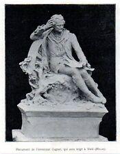 1910  --  MONUMENT D EL INVENTEUR CUGNOT QUI SERA ERIGE A VOID  MEUSE    3L251