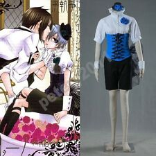 USA Black Butler Ciel Phantomhive Deluxe Limited Doujinshi Cosplay Costume Ship