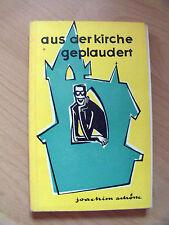 """DDR-Buch """"aus der Kirche geplaudert"""" von Joachim Schöne"""