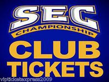 2~SEC CHAMPIONSHIP TICKETS~FLORIDA ALABAMA? LSU? RARE CLUBS!!!!!