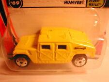 Matchbox 2001 #69  HUMVEE  H1 Hummer  yellow