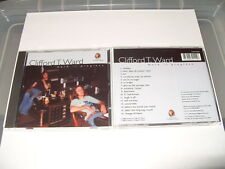 Clifford T. Ward - Work in Progress (2003) cd 16 tracks New Rare