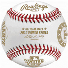 Rawlings Official 2010 World Series Dueling Teams Baseball  SF Giants  CUBED