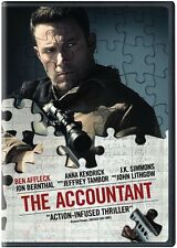 Accountant (2017, REGION 1 DVD New)