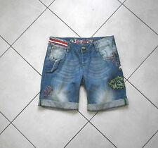 Short jean décoré Desigual taille 28 Us  38 fr