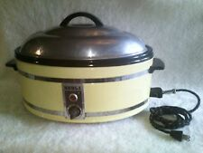 RARE VTG NORGE ELECTRIC OVEN BORG WARNER SLOWCOOKER CROCKPOT SMALL APPLIANCE