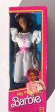 Vintage ~ 1984 Mattel MY FIRST BARBIE Doll No. 9858 African American AA