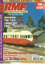 RMF N° 408 AUTORAILS / ABJ 1 ET 2 LSL / XRABD 6247 JOUEF / ABV LSL / SCIERIE