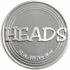 Heads or Tails 1/2 Ounce .999 Fine Silver Round by SilverTowne