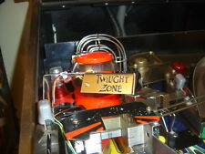 TWILIGHT ZONE PINBALL MOD - CUSTOM MINI PLAYFIELD LAMP  [pinball flipper MOD]