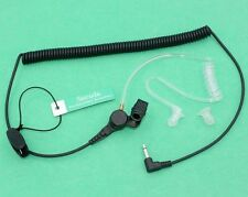 3.5MM Jack Listen Only Earpiece for MOTOROLA ICOM KENWOOD Yaesu Speaker Mic